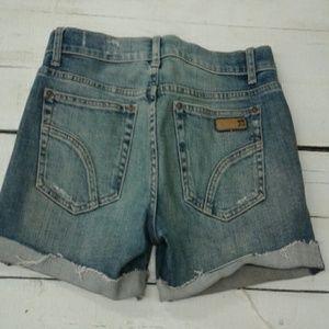 Women's 7 for all mankind denim shorts